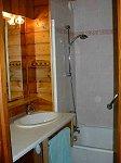 salle de bains location appartement Chatel