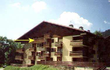 location appartement dans chalet résidence à Chatel