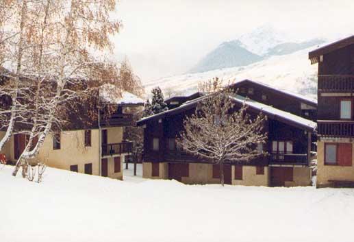 appartement Montchavin en hiver