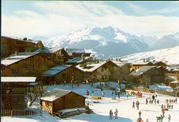 Location Montchavin La Plagne Paradiski station village accomodation ski resort Montchavin village Paradiski